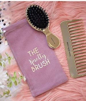 The Knotty Brush Handbag Hero Set